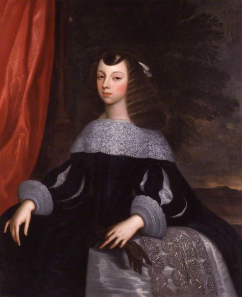 NPG 2563; Catherine of Braganza by or after Dirk Stoop
