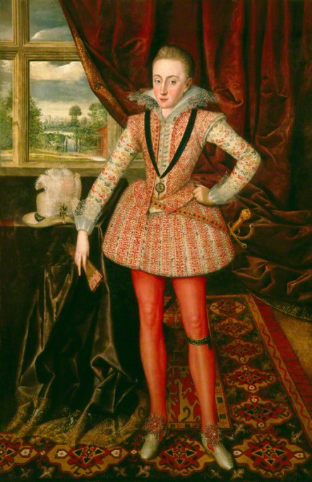 NPG 4515; Henry, Prince of Wales by Robert Peake the Elder