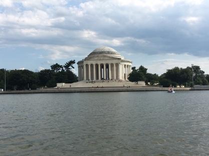 The Jefferson Memorial!