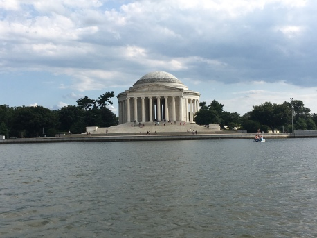 The Jefferson Memorial!
