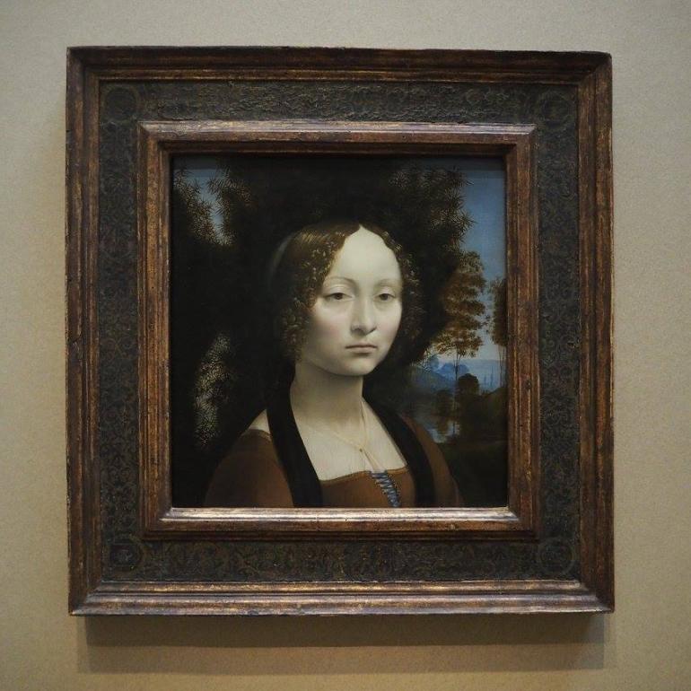 Ginevra de Benci, Leonardo da Vinci
