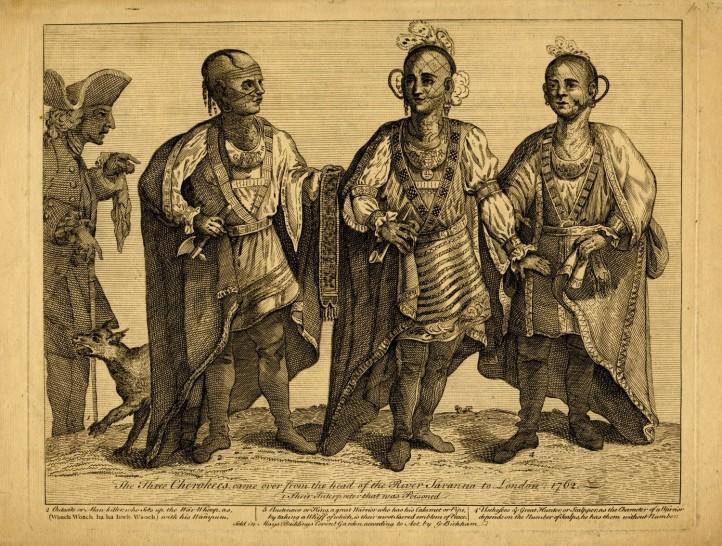 Cherokee delegation