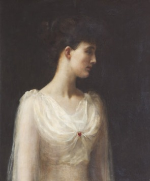 Emmeline 'Nina' Mary Elizabeth Welby-Gregory, Mrs Henry John Cockayne-Cust (1867-1955) by The Hon. John Collier (London 1850 ¿ Hampstead 1934)