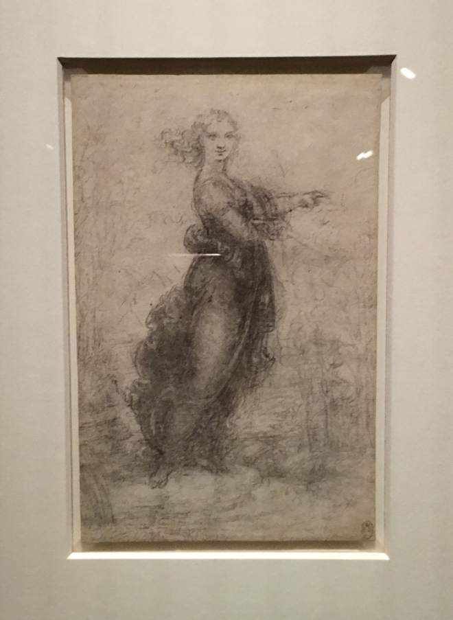 Leonardo D Exhibition : Leonardo da vinci: a life in drawing u2013 history lizzie
