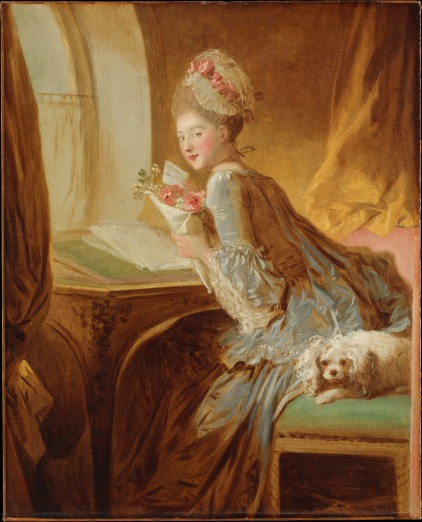 Fragonard Love letter