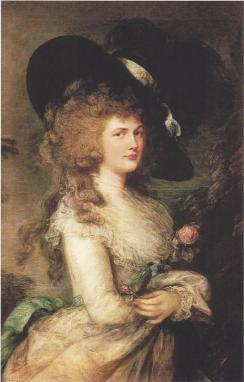 GEORGIANA BY GAINSBOROUGH